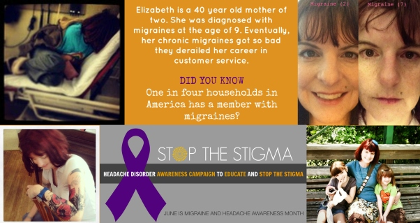 Day 3 of Migraine and Headache Awareness Month